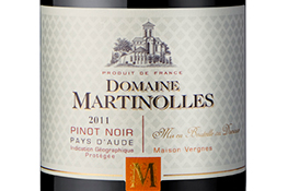 Domaine Martinolles Pinot Noir