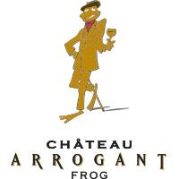 logo chateau arrogant frog