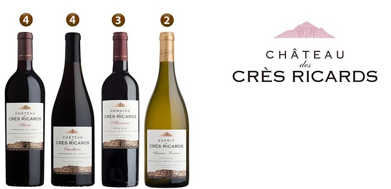 Les vins Crès Ricards
