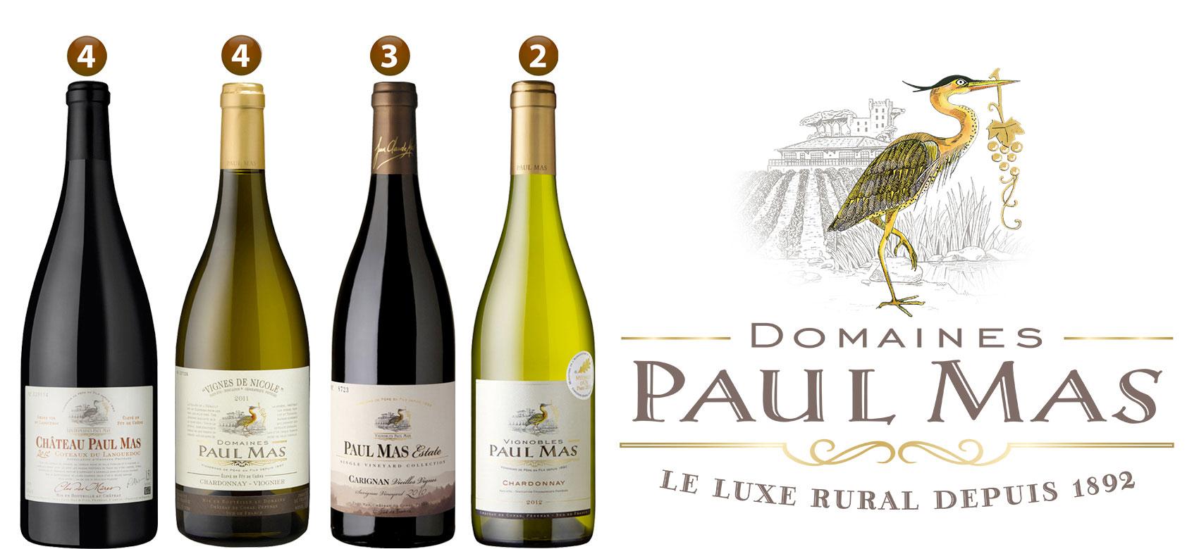 Les vins chateau paul mas