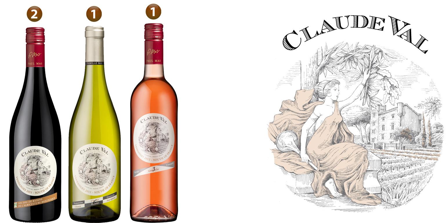 Les vins Claude Val