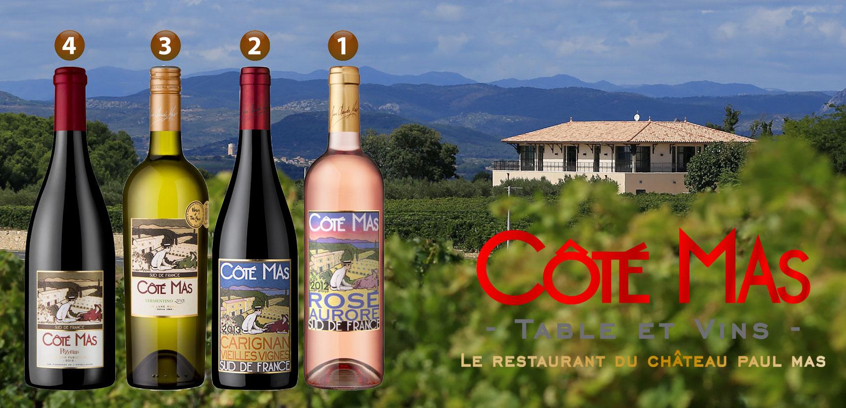 Les vins Côté Mas