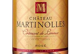 Château Martinolles Crémant de Limoux rosé