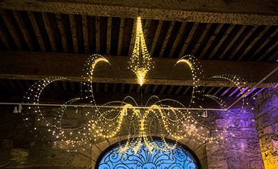 Luminaire maison des métiers d'art à Pézenas