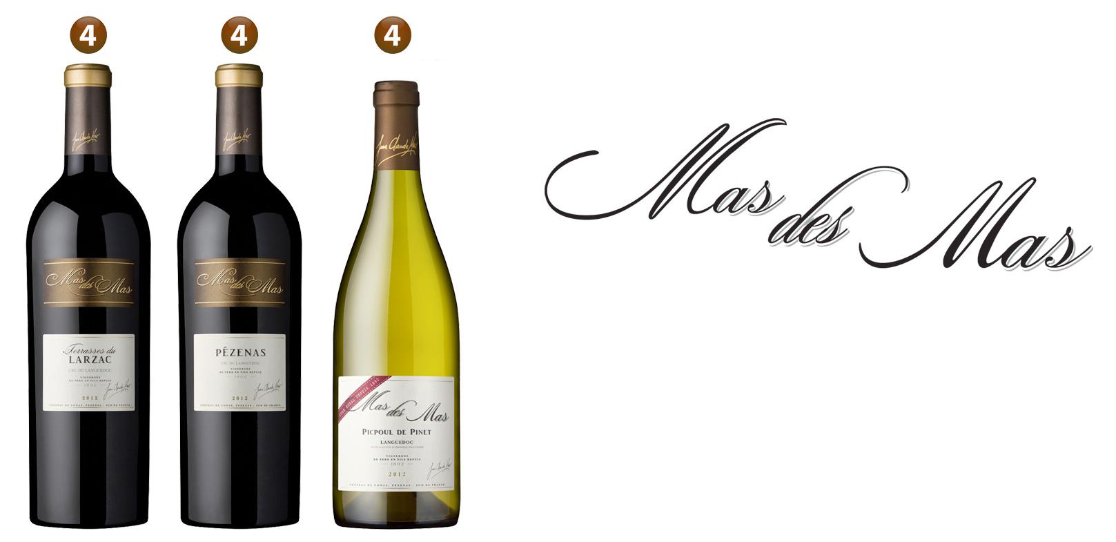 Les vins mas des mas