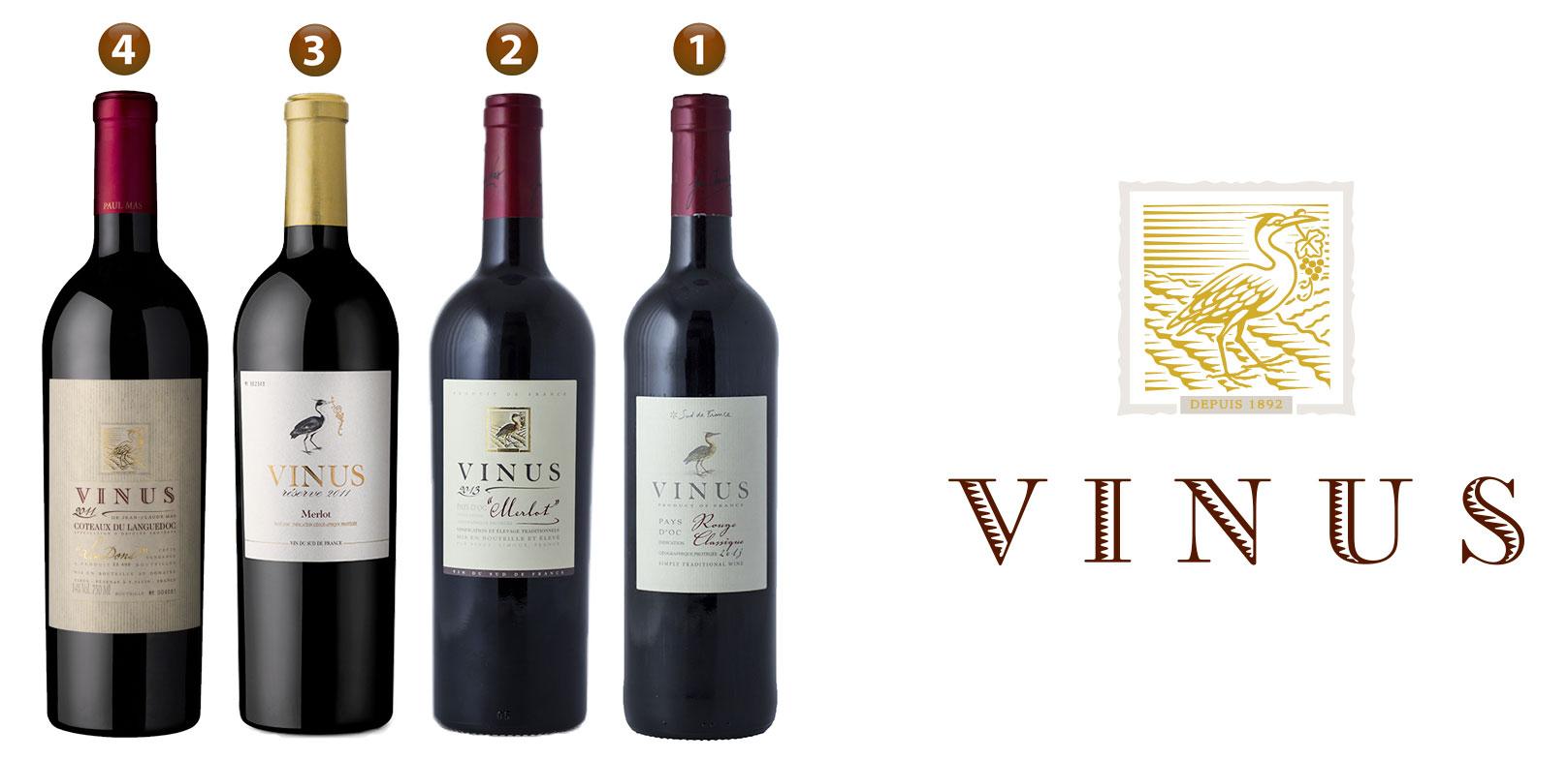 Les vins Vinus