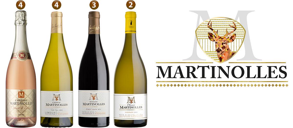 Les vins du Château de Martinolles