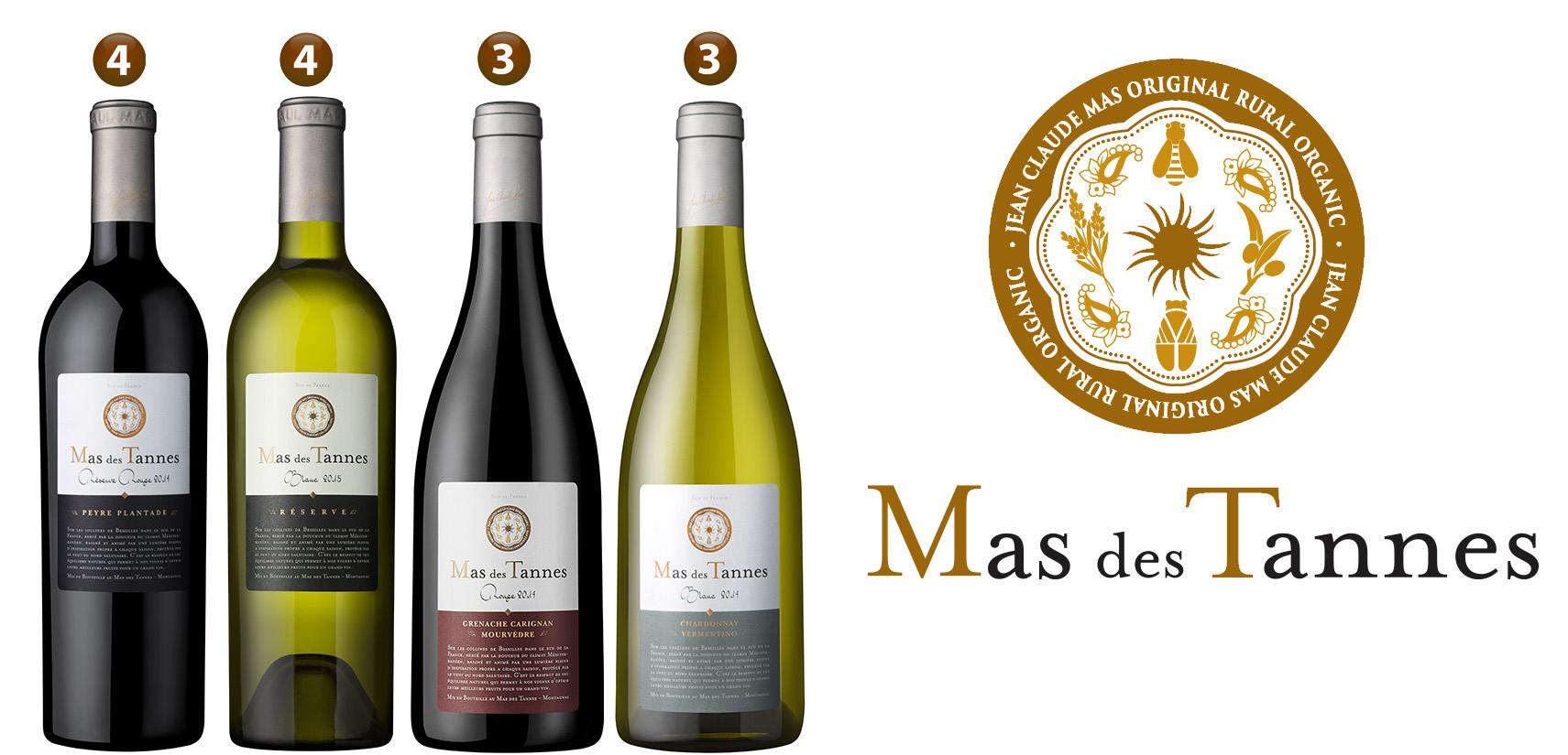 Les vins Mas des Tannes