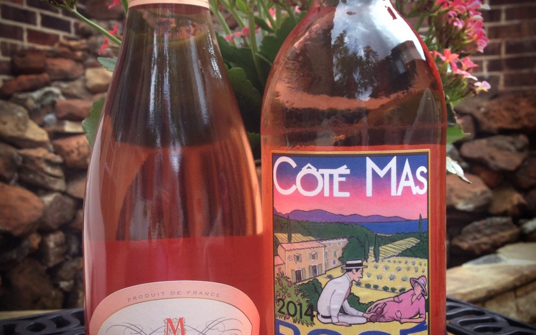 Rosé pairs exceptionally well with hot dogs, an amazing pairing by Rockin Red Blog