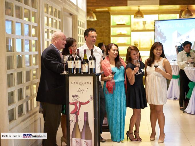 Arrogant Frog Wine tasting in Manila at Le Jardin in BGC