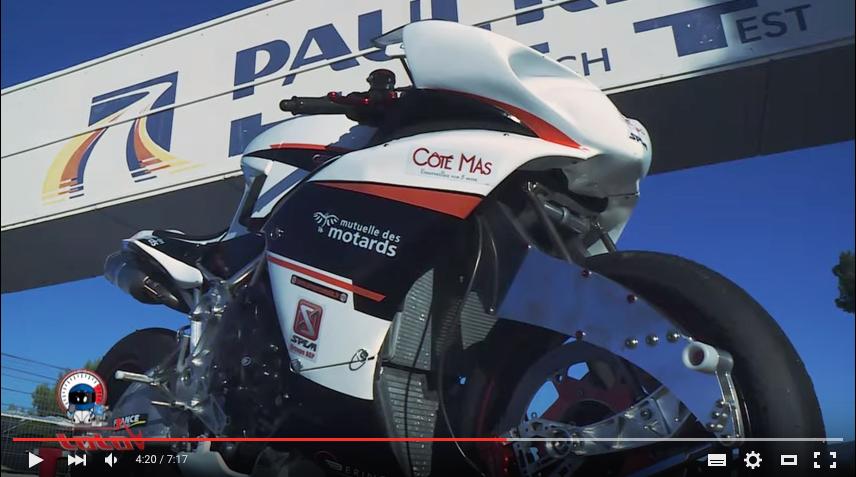 L'Innovation en mouvement avec Côté Mas et GECO une moto française unique