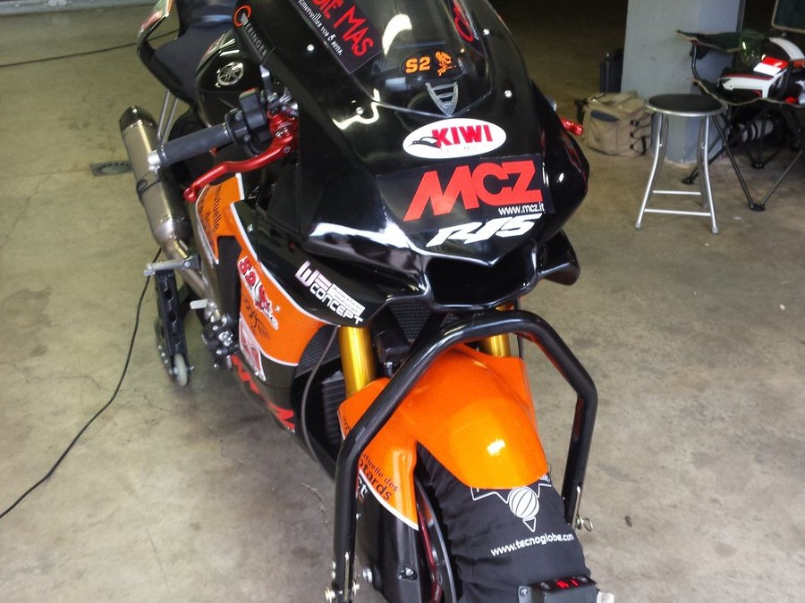 Paul Mas et Côté Mas fidèle partenaire du projet moto Geco
