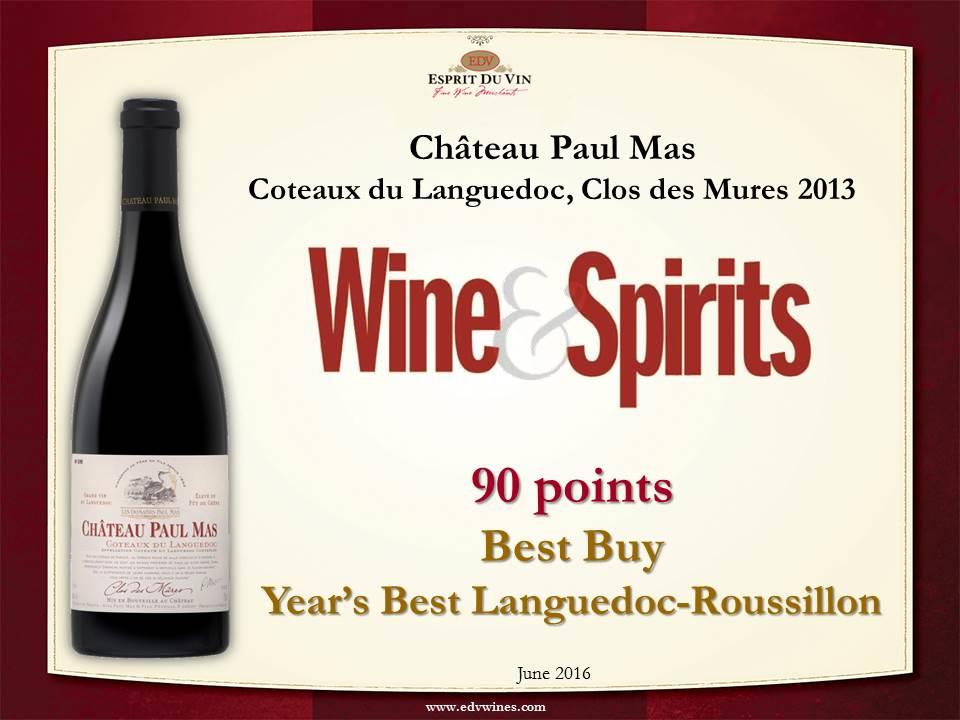 chateau paul mas wine and spirit