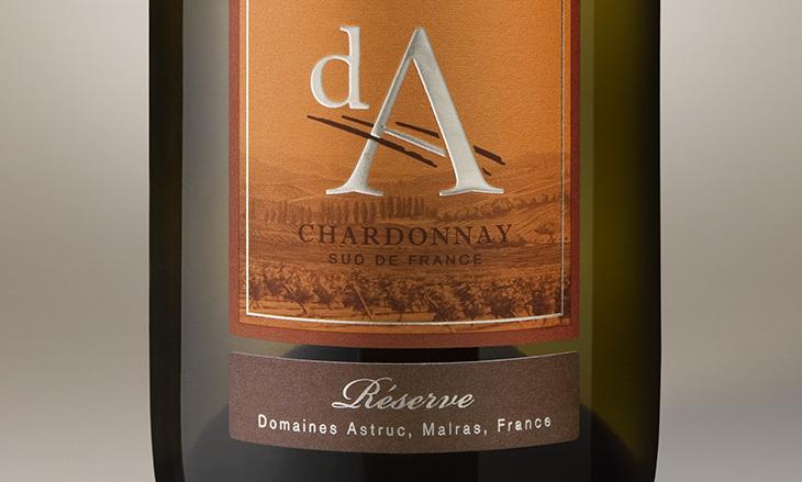 Meilleur Chardonnay du Monde 2016, de l'or pour la cuvée dA Chardonnay réserve 2015
