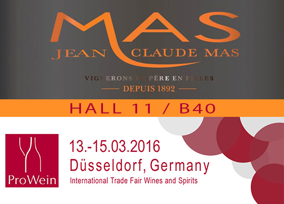 Meet us at Prowein 2016 and discover more than wines