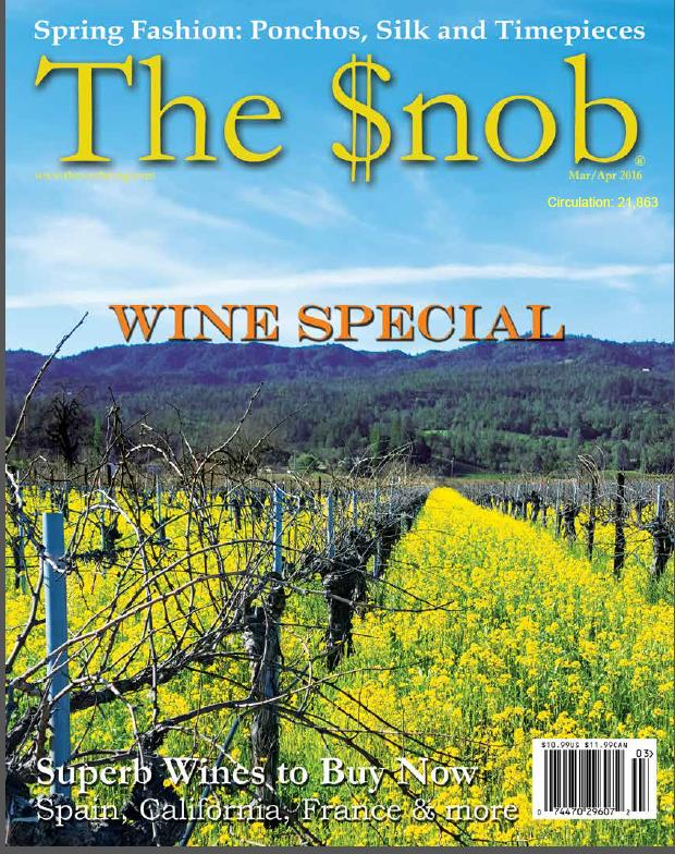 cover of the magazine the snob