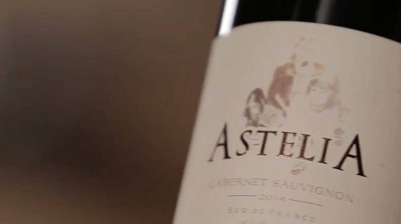 Tasting Astelia Wines by Jean Claude Mas