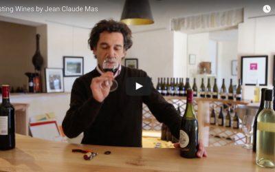 Tasting Claude Val Wine by Jean Claude Mas