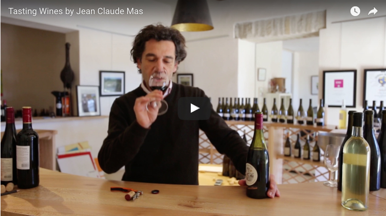 Tasting Claude Val Wine by Jean Claude Mas