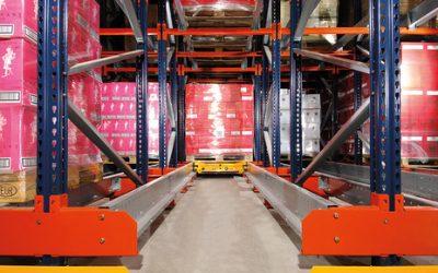 Réorganisation de notre entrepôt de picking pour vin avec le Pallet Shuttle par Mecalux