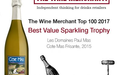 The Wine Merchant Top 100 2017, Côté Mas Frisante Best Value Sparkling Trophy