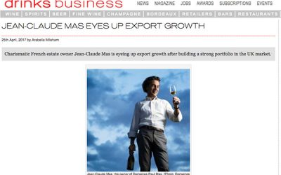 The Drink Business : Jean-Claude Mas eyes up export growth