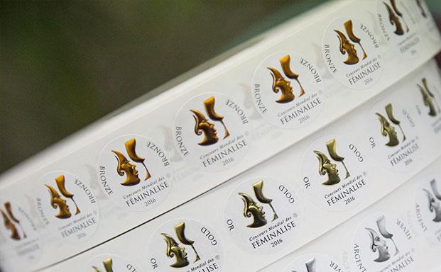 11e Concours Mondial des Vins FÉMINALISE, de l'or pour Crès Ricard Oenothera