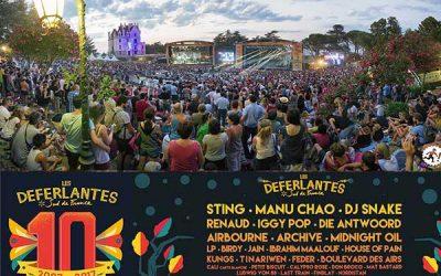 Domaines Paul Mas is official sponsor of the Deferlantes music festival