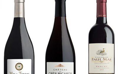 3 Médailles d'Or au Concours des Grands Vins du Languedoc Roussillon