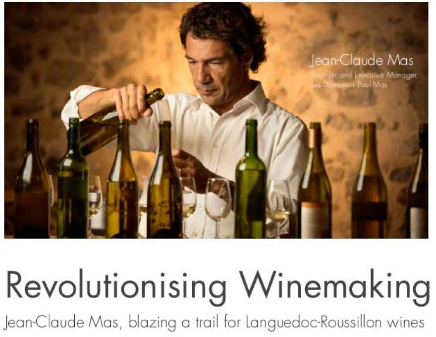 Vinexpo Daily news : focus on Jean-Claude Mas