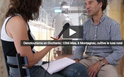 Côté Mas, la viniculture en terre occitane, interview vidéo de Midi Libre
