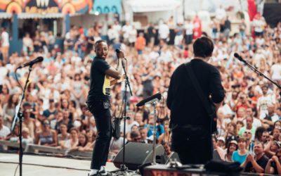 Ouverture de la scène Paul Mas au Festival Les Déferlantes