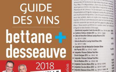 Guide des vins Bettane et Desseauve 2018