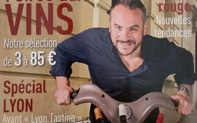 Vinus à la Une du Magazine Terre de Vins avec François-Xavier Demaison