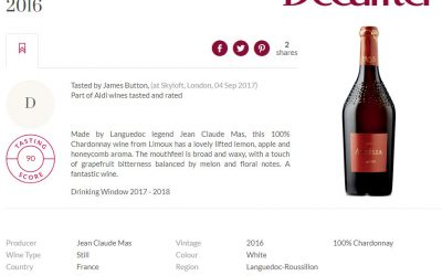 Decanter Jean Claude Mas Astelia Limoux 90 pts