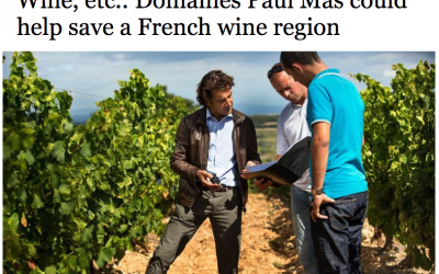 Capital Gazette article about Languedoc Wine Region and Jean Claude Mas