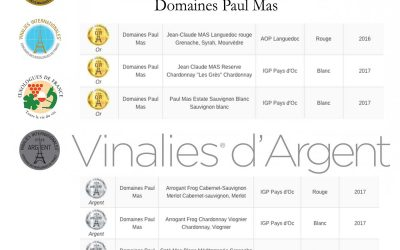 Vinalies Internationales 2018 : 3 Gold Medals, 5 Silver Medals