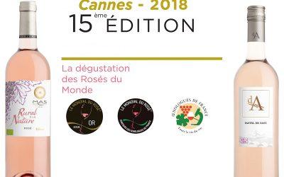 Palmarès Concours Mondial du Rosé 2018