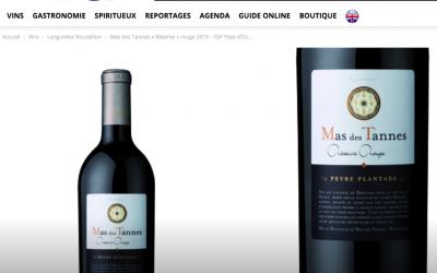 Mas des Tannes Réserve rouge 2015 par Vins et Gastronomie