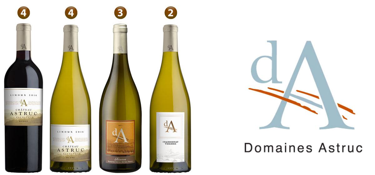 Les vins Domaines Astruc