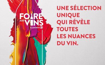 Foire aux vins au Centre Edouard Leclerc de Vannes