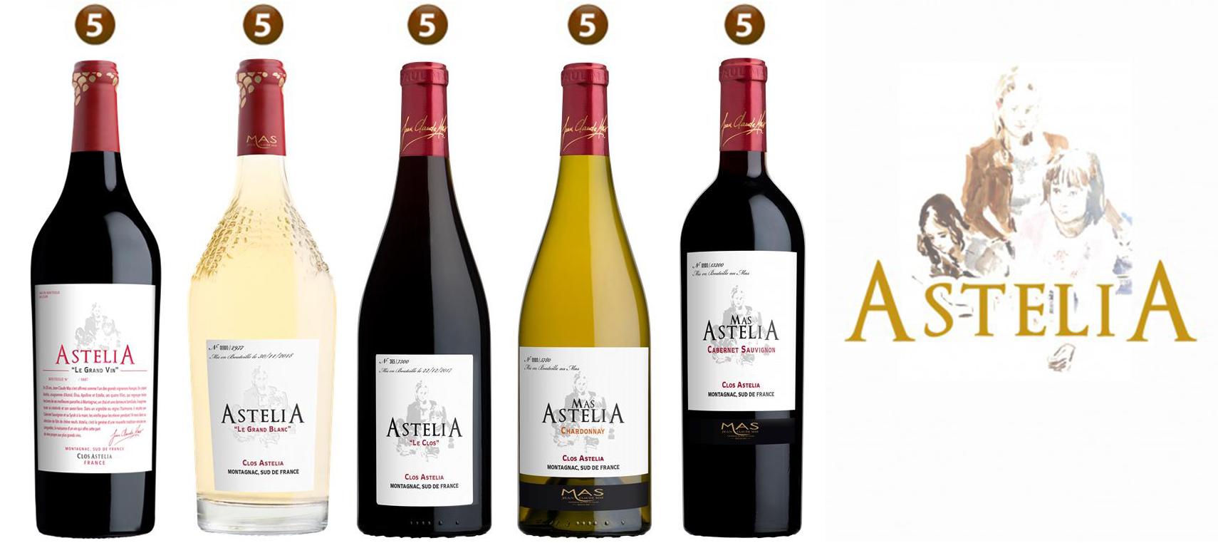 Les vins Astélia